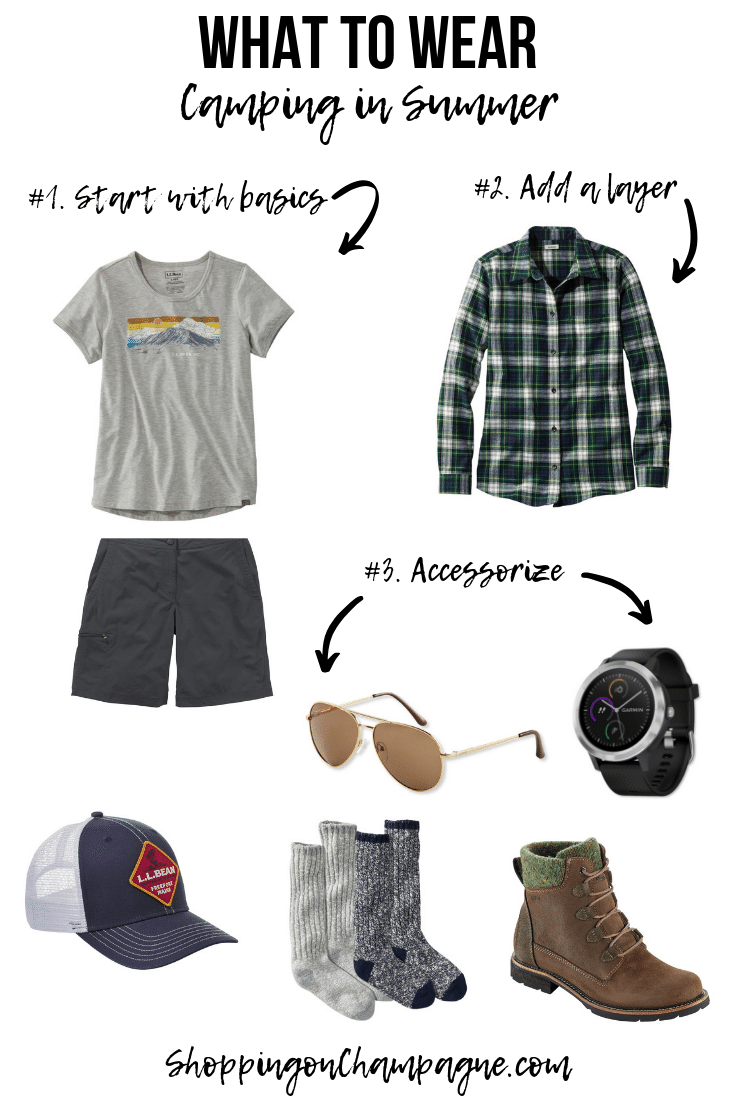 What to Wear Camping in Summer