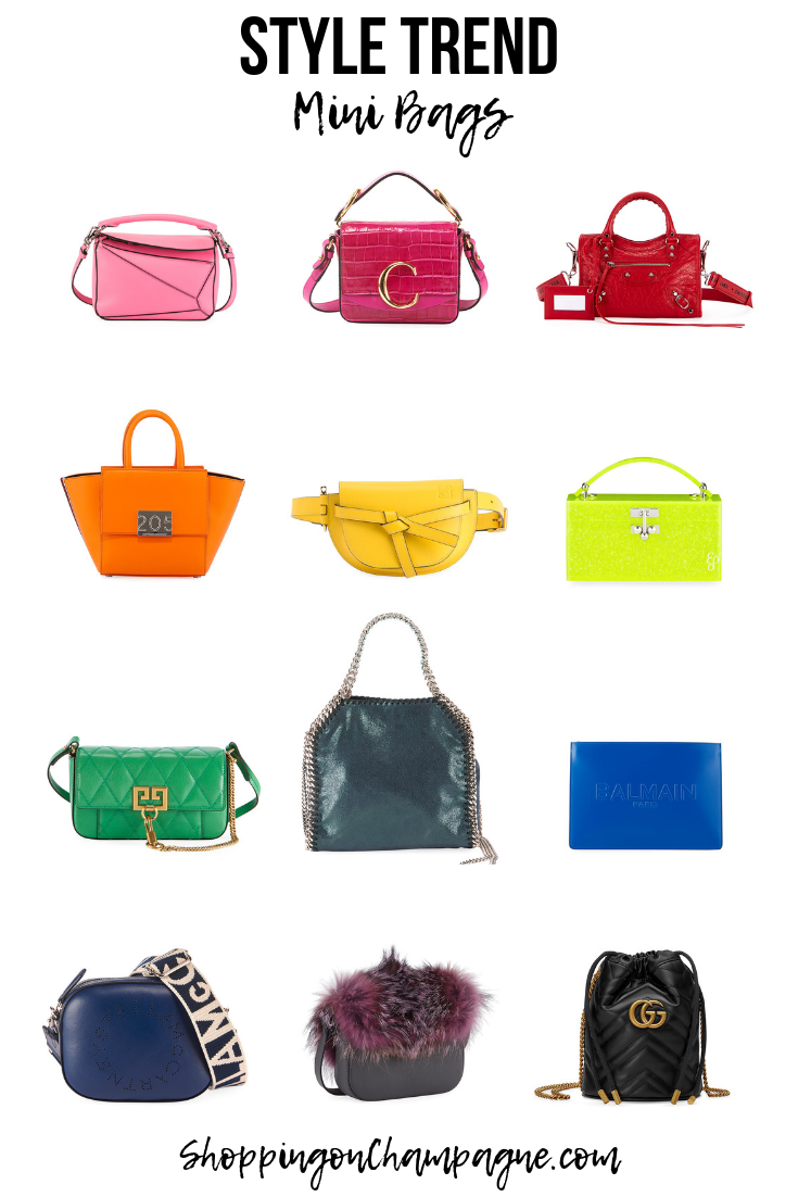 Fashion and Style Trends: Mini Bags!