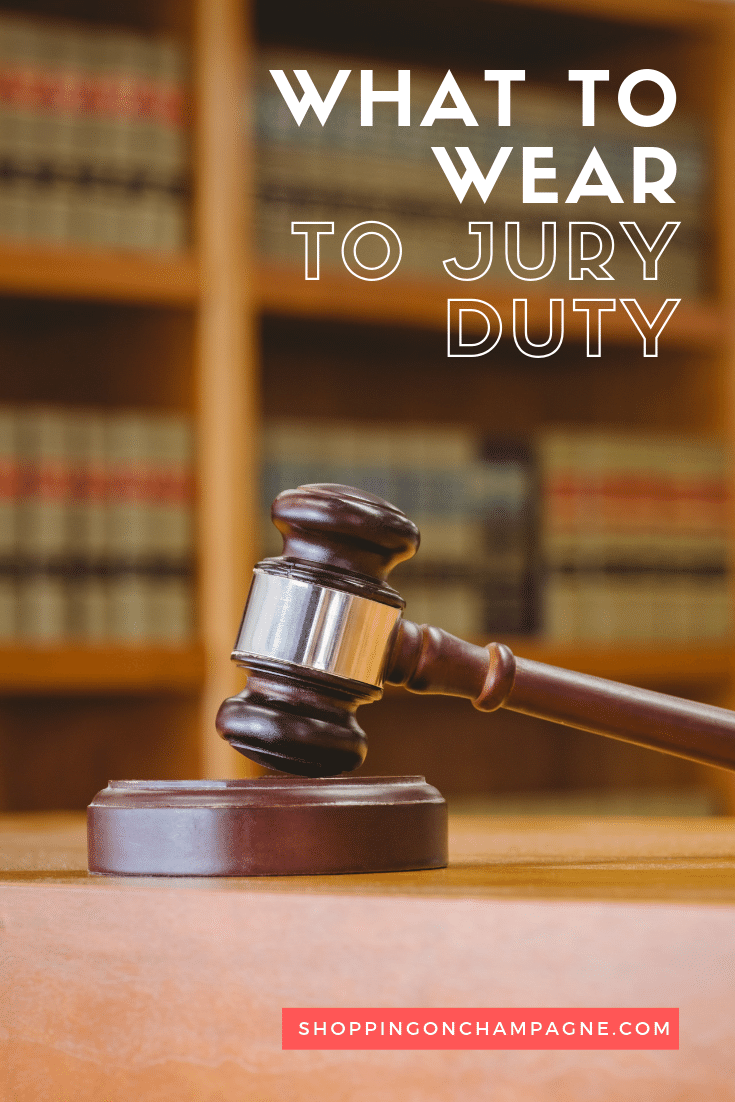 What to Wear to Jury Duty: Answers to Common Questions + Outfit Ideas. Pin it for later!
