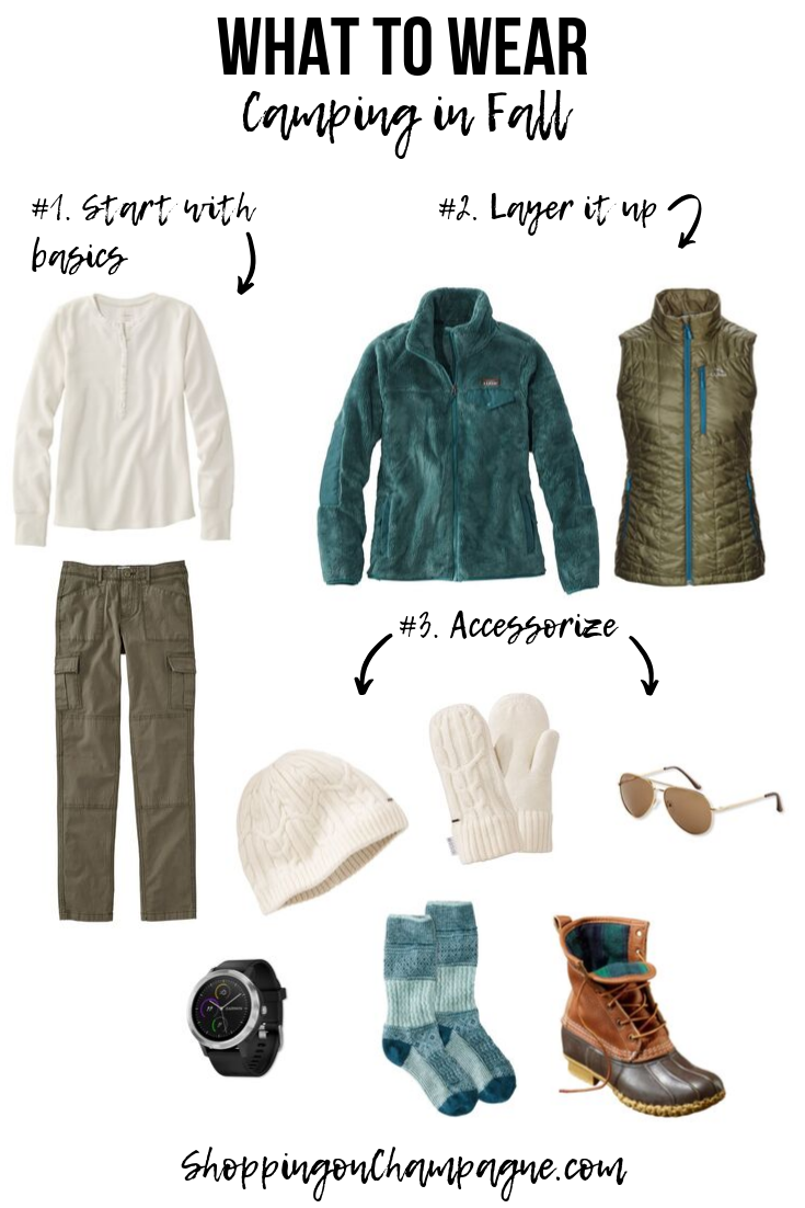 What to Wear Camping in the Fall