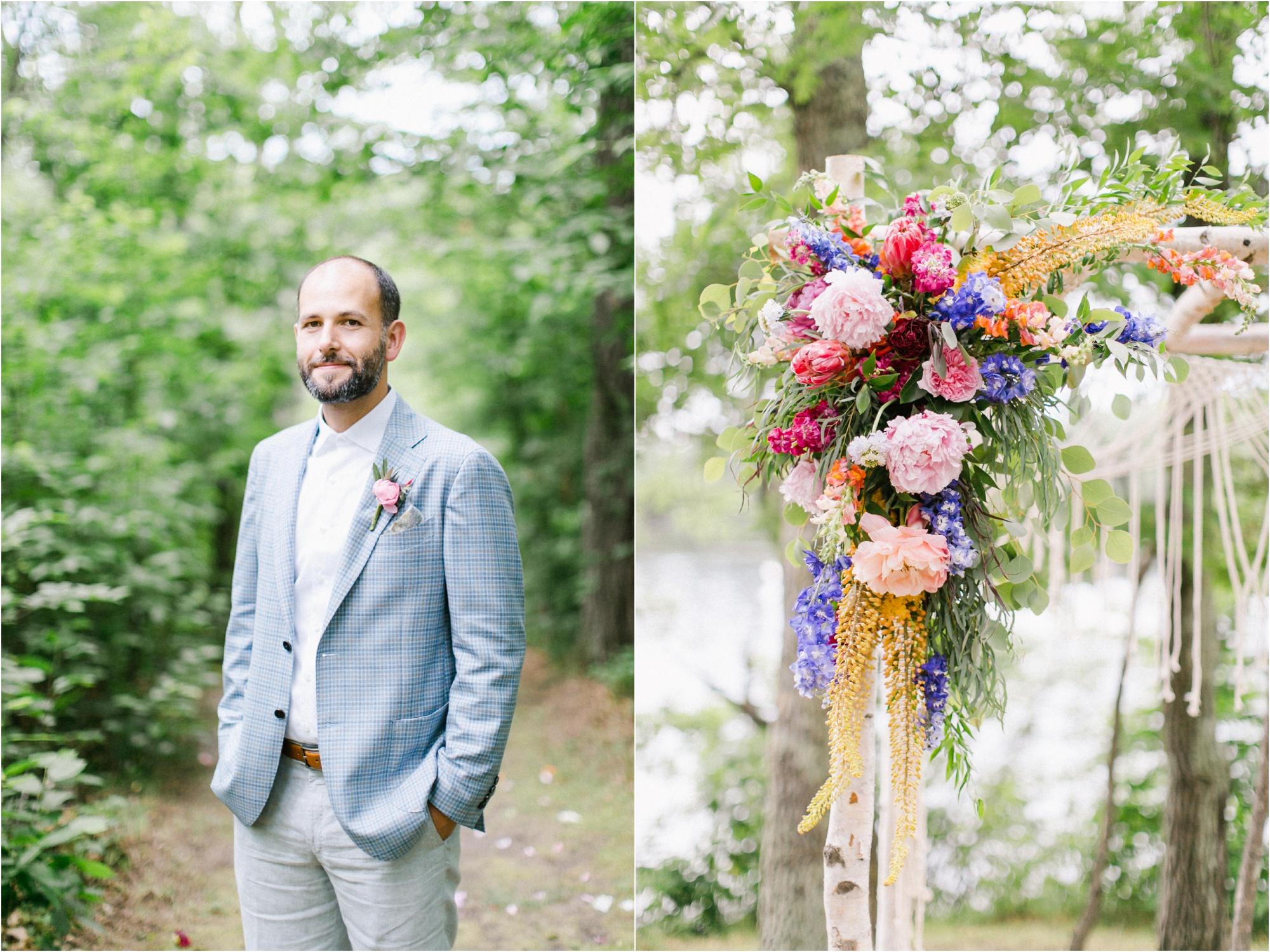 Wedding Photography Brainerd MN Aimee Jobe Photography Private Lake Residence Bloom Designs_0016.jpg
