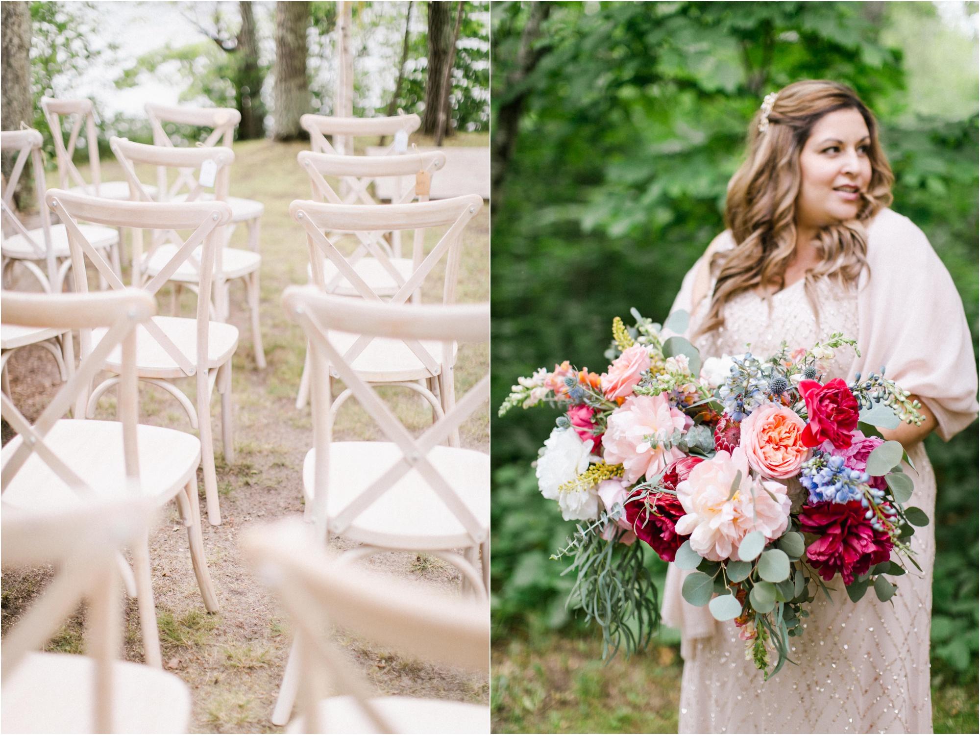 Wedding Photography Brainerd MN Aimee Jobe Photography Private Lake Residence Bloom Designs_0015.jpg