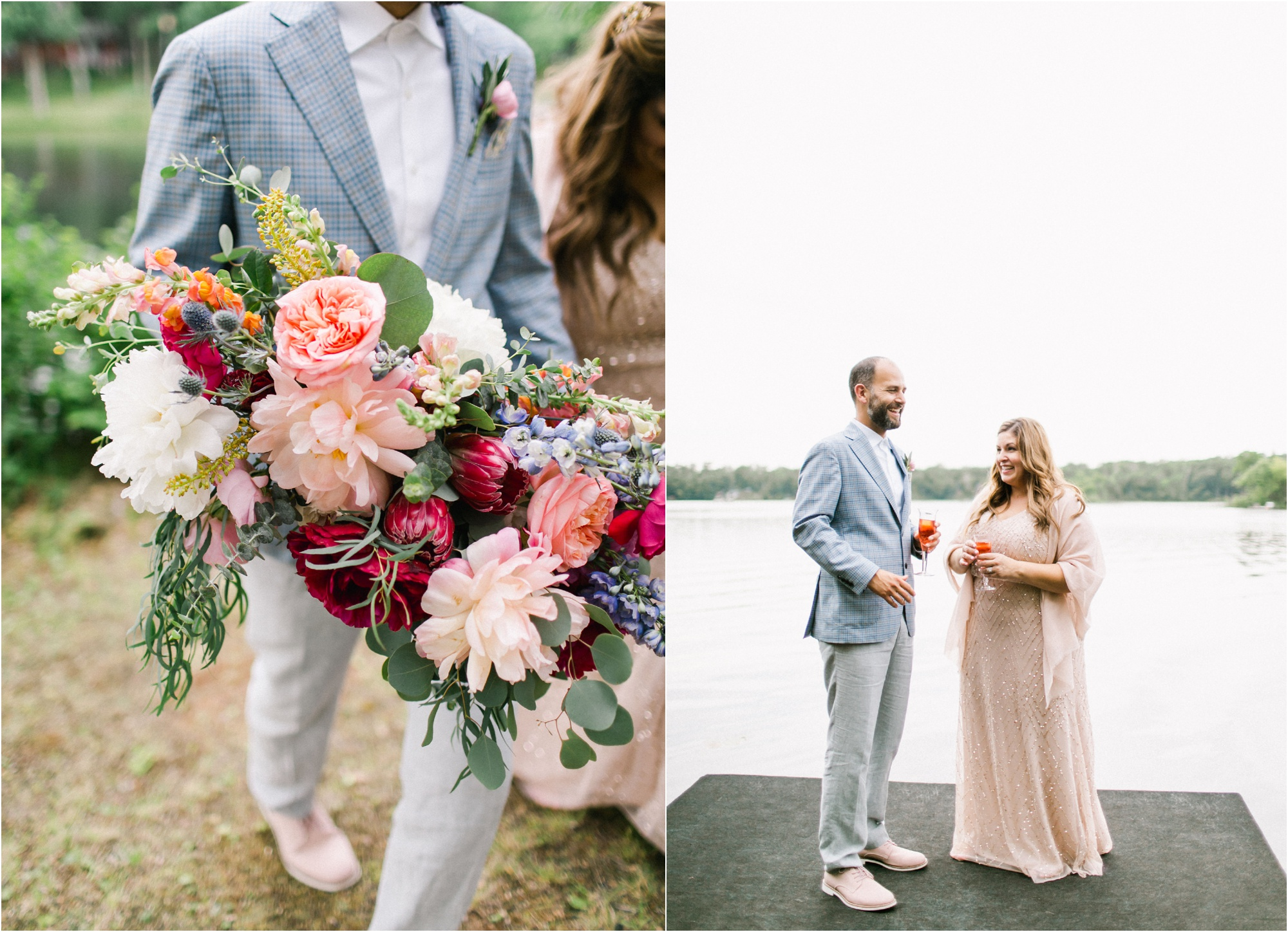 Wedding Photography Brainerd MN Aimee Jobe Photography Private Lake Residence Bloom Designs_0050.jpg