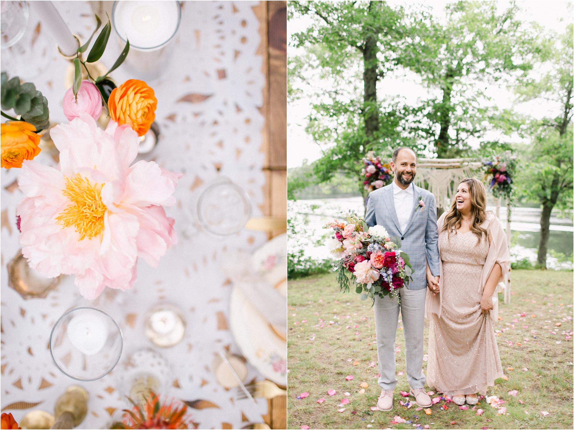 Wedding Photography Brainerd MN Aimee Jobe Photography Private Lake Residence Bloom Designs_0059.jpg