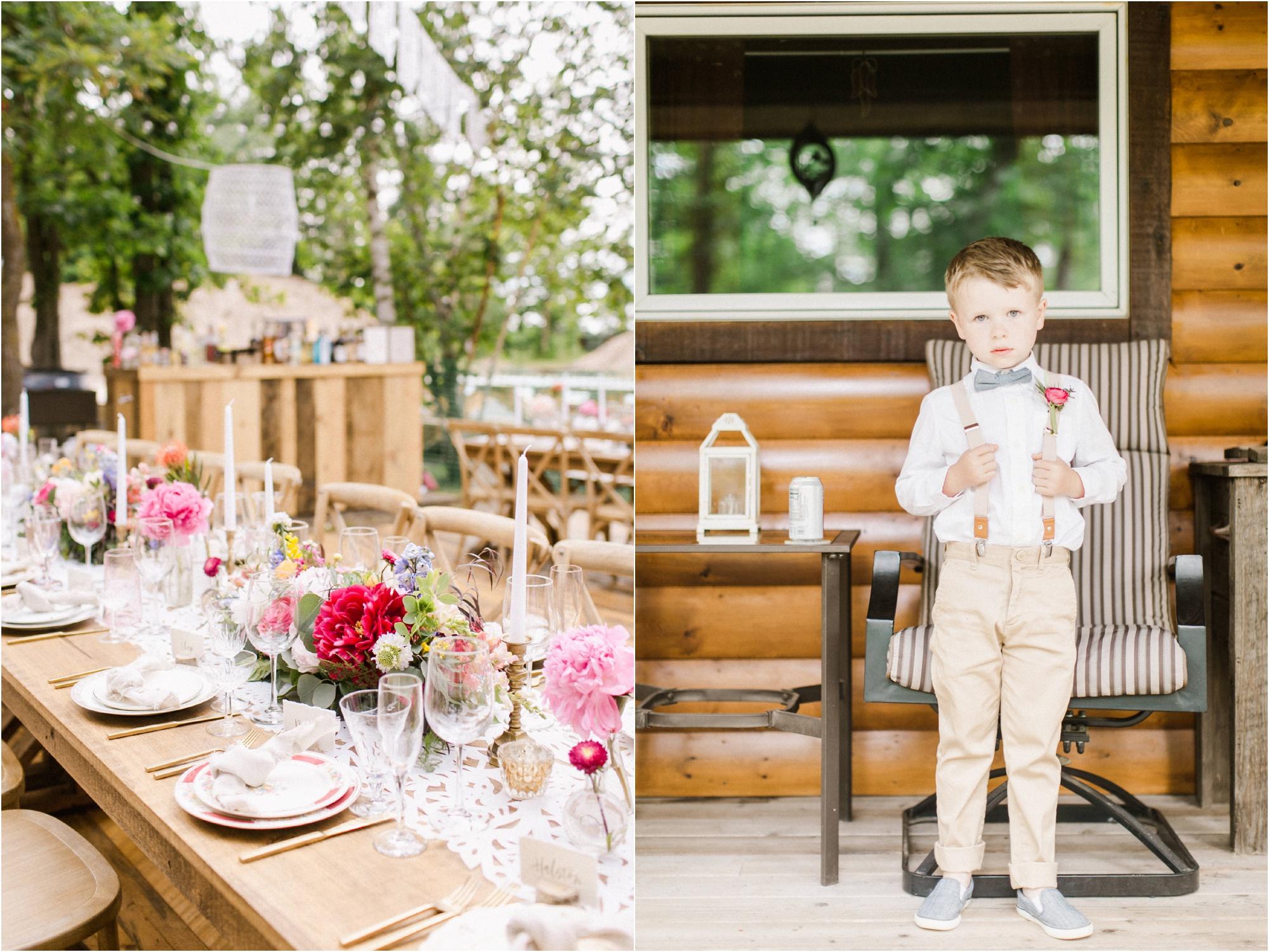 Wedding Photography Brainerd MN Aimee Jobe Photography Private Lake Residence Bloom Designs_0075.jpg
