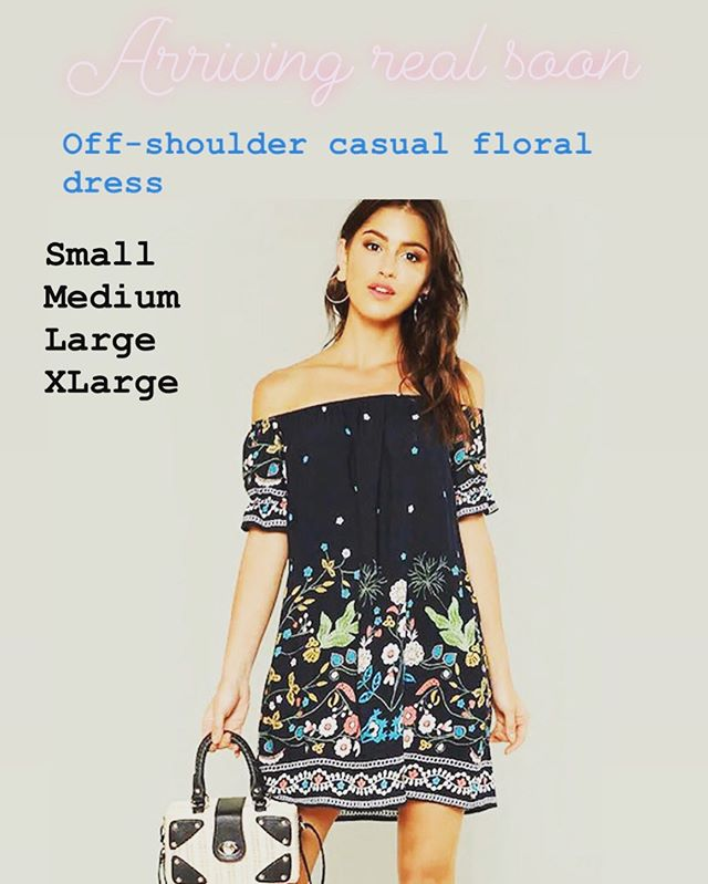 New arrivals real soon. Floral casual dresses. Now that summer is here look cute in one of this beautiful dresses. #onlineshopping #latinachicboutiquereidsvillenc #modalatina #boutique #mujermoderna #latinabloggers #newarrivals #onlineshopping