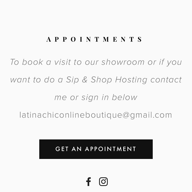 Make an appointment to see the showroom/office. Go to the website on contact schedule a date. Can't wait to see y'all.