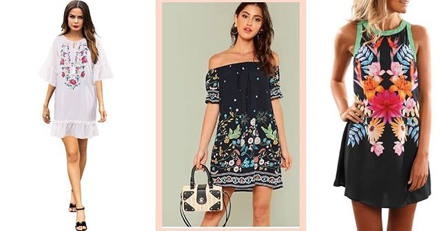 Summer Ready Floral Dresses now for this hot days. #latinachicboutiquereidsvillenc #onlineshopping #newarrivals #bohostyle #floraldress #hotsummerdays #dresses #mexicanbloggers #mexicanstyle #triad #greensboro #reidsville