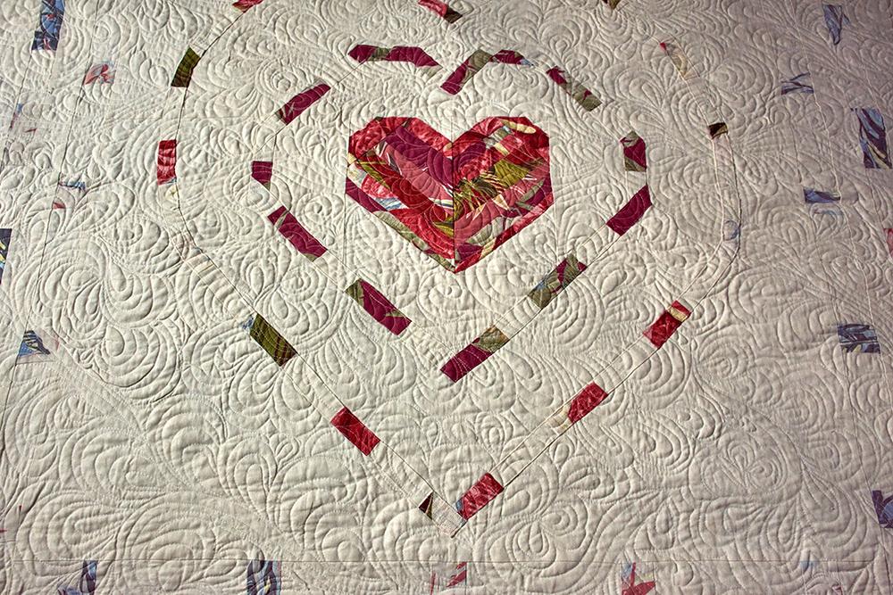 Memorial quilt in king