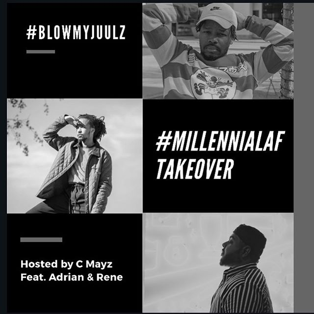 We can't wait for you all to hear tomorrow's episode #BlowMyJuulz feat the men of @rebelliousociety and @renecamposjr ! We had to kick @anniedets out 🤷🏻‍♀️ • • •  #hashtagmillaf #millennialaf #millaf #rebelliousociety #podcast #pod  #lifestyle #talkshow #entertaining #funny #instadaily #picoftheday #new #dfw #dallas #denton #stickysituations #lit #litaf #quotes #facts #picoftheday #newpost #art #photography #juuls #confederateflag #takeover #stickysituations