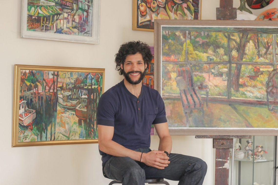 Jamie Loper, Son of Edward Loper Jr. & Gallery Manager