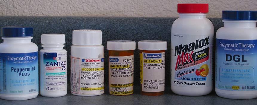 The Medicine Cabinet of David Rainoshek before Juice Feasting
