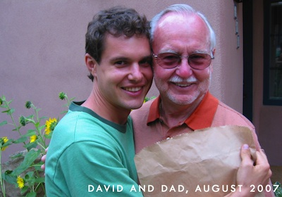David and his Dad, Dennis Rainoshek. Both have Juice Feasted for 92 Days to save their health.