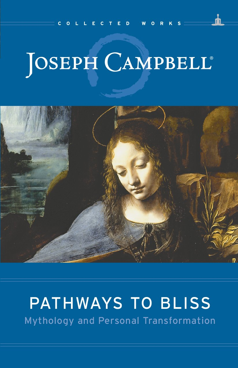 """Pathways to Bliss - by Joseph CampbellThis ninth volume of Campbell's previously unpublished material deftly marries his sweeping grasp of myths with the needs of contemporary people looking for meaning and inspiration. Expert editor and seasoned Campbell authority David Kudler makes the mythic-stature-mythicist come alive again. Fans will recognize Campbell's comforting cadence and intimacy, conveyed by use of the second person and by his masterful storytelling. Campbell realized he was essentially saying the same things over more than two decades.This volume gives explicit directions for identifying and connecting oneself to a meaningful mythic overview, unbounded by specific cultures or historical facts. Campbell gives adequate coverage to the historical development of myth as it pertains to the individual, especially through the eyes of Jung. The final chapter, a distilled jewel of the hero's journey mono-myth that Campbell made famous, is followed by """"Dialogue,"""" several pages of conversation between Campbell and anonymous people, exploring the application of gender differences to the hero's journey."""