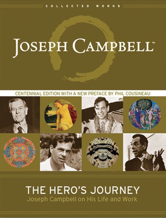 """The Hero's Journey: Joseph Campbell on His Life and Work - The man behind the myth is lovingly revealed in this collection of interviews with the late Joseph Campbell. Using Campbell's format for the """"hero's journey,"""" editor Phil Cousineau organized these interviews so that they reflect Campbell's own chronological life quest. He begins with """"The Call to Adventure,"""" in which Campbell speaks to his fascination with Native American myth as a child, and moves through """"The Road of Trials"""" (his years in college and as a young professor at Sarah Lawrence) and the """"Meeting with the Goddess"""" (referring to meeting his wife of 50 years, the modern dancer Jean Erdman). Since most of the book is written in a question and answer format (with a few excerpts from lectures), much of the text is in Campbell's own words. It is a feast for any fan to hear Campbell speak so personally about his own life while also imparting his usual insight and wisdom on every topic he discusses."""