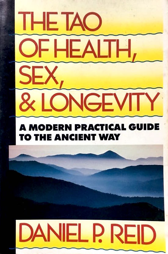 "The tao of health, sex, and longevity - by Daniel P. ReidWritten by a Westerner for the Western mind, here is the first book to explore in light of modern science the balanced and comprehensive system of health care used by Chinese physicians, martial artists, and meditators for over 5,000 years.Drawing on original Chinese sources and years of personal experience, the author introduces the philosophy of Tao and gives detailed, practical information on:diet and nutrition, including sample menus; food combining, and detoxifying the body; specific foods and juices as treatments for a wide range of diseases (including such modern Western concerns as hypertension, cancer, infertility, herpes, and AIDS); fasting and excretion; breathing exercises; physical exercises for long life, total relaxation, and general health; acupuncture and massage techniques; Taoist birth control; sex therapy; bedroom arts and techniques to ensure complete satisfaction for both partners (considered essential for good health and long life); herbal aphrodisiacs and other sexual aids; meditation — turning essence into energy and energy into spiritWith many helpful charts and clear illustrations, The Tao of Health, Sex and Longevity makes the ancient ""Way"" easily accessible to those seeking the latest in New Age health care."