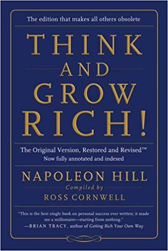 think and grow rich - by Napoleon HillThis is the REAL source of THE SECRET to Wealth! Published in 1937 and written during the depths of the Great Depression, this book contains the wisdom of 25 years of research into the mindset of the most brilliant, wealthiest and most powerful men of the 20th Century…. Andrew Carnegie, Henry Ford, Thomas Edison, and many more. These are the men who made the United States the powerhouse of wealth that we know it today. With easy to follow, step by step directions, this book is the TRUE inspiration for every book on creating wealth and prosperity ever since! Learn the TRUTH about THE SECRET to creating fabulous and lasting wealth from the man who wrote the book!