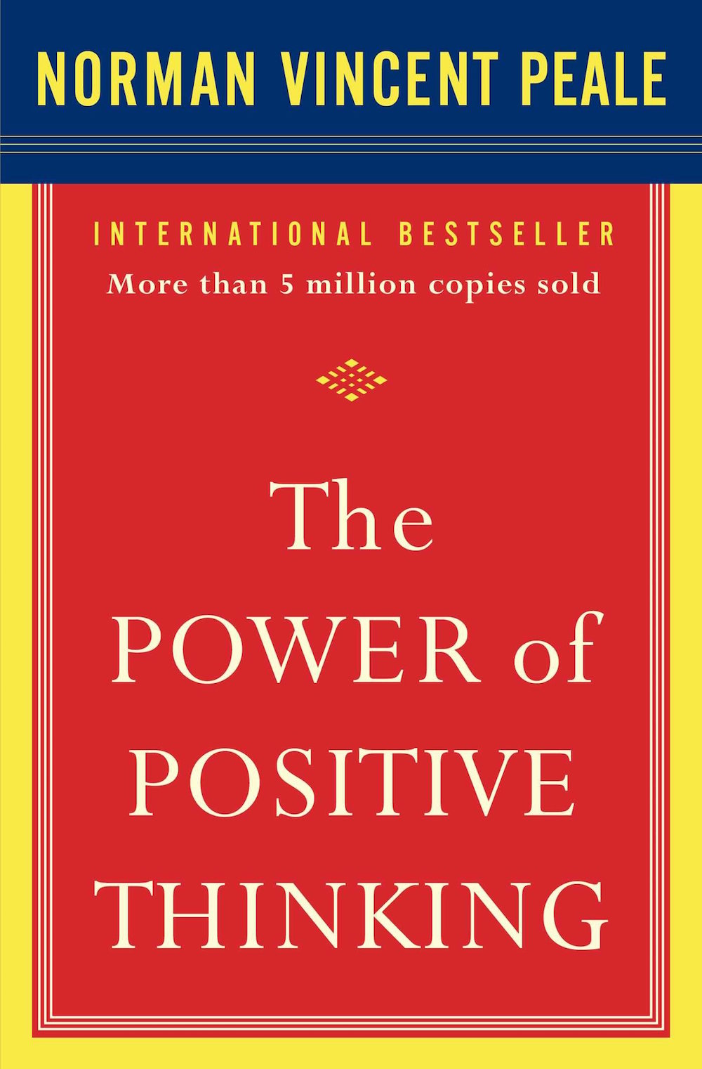 the power of positive thinking - by Norman Vincent PealeThe Power of Positive Thinking has helped millions of men and women to achieve fulfillment in their lives. In this phenomenal bestseller, Dr. Peale demonstrates the power of faith in action. With the practical techniques outlined in this book, you can energize your life — and give yourself the initiative needed to carry out your ambitions and hopes. You'll learn how to:• believe in yourself and in everything you do• build new power and determination•develop the power to reach your goals• break the worry habit and achieve a relaxed life• improve your personal and professional relationships• assume control over your circumstances• be kind to yourself