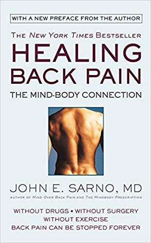 Healing Back Pain: The Mind-Body Connection - by Dr. John SarnoDr. John E. Sarno's groundbreaking research on TMS (Tension Myoneural Syndrome) reveals how stress and other psychological factors can cause back pain-and how you can be pain free without drugs, exercise, or surgery.Dr. Sarno's program has helped thousands of patients find relief from chronic back conditions. In this New York Times bestseller, Dr. Sarno teaches you how to identify stress and other psychological factors that cause back pain and demonstrates how to heal yourself--without drugs, surgery or exercise. Find out:+ Why self-motivated and successful people are prone to Tension Myoneural Syndrome (TMS)+ How anxiety and repressed anger trigger muscle spasms+ How people condition themselves to accept back pain as inevitableWith case histories and the results of in-depth mind-body research, Dr. Sarno reveals how you can recognize the emotional roots of your TMS and sever the connections between mental and physical pain...and start recovering from back pain today.