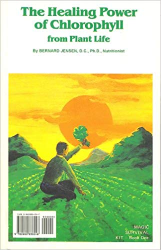 the healing power of chlorophyll - by Bernard JensenBernard Jensen has been a pioneer in the health field for more than 45 years, and his Health Magic Through Chlorophyll, part I of the Magic Survival Kit series, opens yet another door for health seekers. his classes on nutritional subjects and talks on the spiritual, mental, and physical needs of man are highly regarded by those who hear them. In a country where few men are widely known unless their works are reflected in the media, Bernard Jensen has without widespread coverage created a large audience among those who believe in Nature as the way to health. A skilled health counselor, he is a doctor who believes in preventive medicine and in natural, pure, and whole foods as a key to gaining and maintaining well-being. The holder of a chiropractic degree, he specializes today in nutrition, a primary study in the drugless healing art.