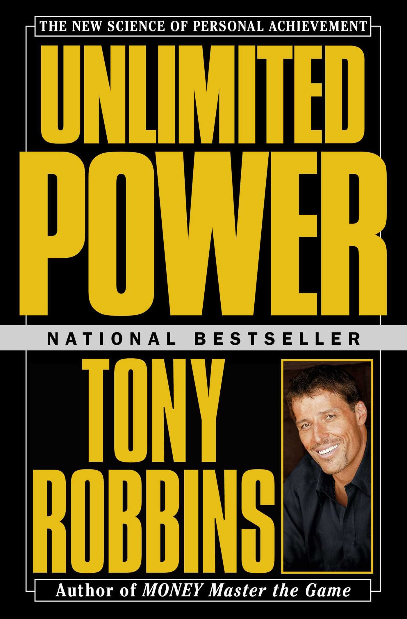 unlimited power - by Anthony RobbinsIf you have ever dreamed of a better life, Unlimited Power will show you how to achieve the extraordinary quality of life you desire and deserve, and how to master your personal and professional life. Anthony Robbins has proven to millions through his books, tapes, and seminars that by harnessing the power of the mind you can do, have, achieve, and create anything you want for your life. He has shown heads of state, royalty, Olympic and professional athletes, movie stars, and children how to achieve. With Unlimited Power, he passionately and eloquently reveals the science of personal achievement and teaches you:* How to find out what you really want; * The Seven Lies of Success; * How to reprogram your mind in minutes to eliminate fears and phobias; * The secret of creating instant rapport with anyone you meet; * How to duplicate the success of others; * The Five Keys to Wealth and HappinessUnlimited Power is a revolutionary fitness book for the mind. It will show you, step by step, how to perform at your peak while gaining emotional and financial freedom, attaining leadership and self-confidence, and winning the cooperation of others. It will give you the knowledge and the courage to remake yourself and your world. Unlimited Power is a guidebook to superior performance in an age of success.