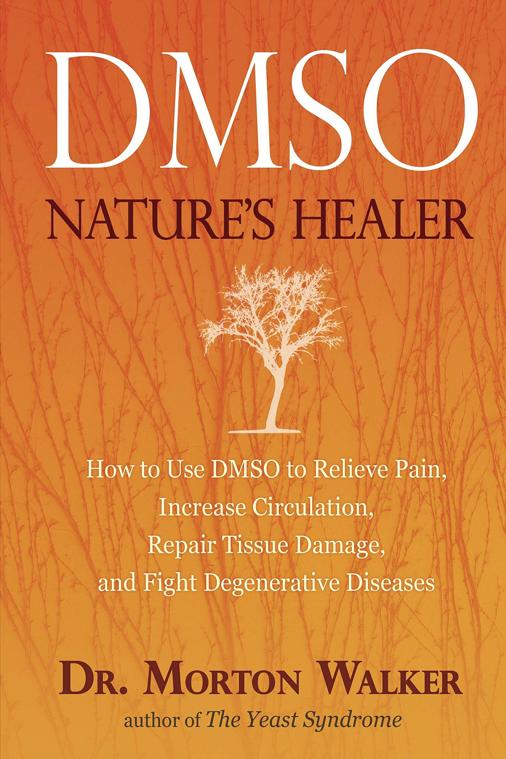 DMSO: Nature's Healer - by Morton WalkerThe healing power of DMSO discussed in this book is no exaggeration. I've been using DMSO on and off for exercise related injuries since 1983. It really works.Depending on where it's applied, sometimes the skin will burn and itch for about 15 minutes and look like a bad sunburn afterward. This is temporary and harmless. On other places I will feel almost no sensation. It's especially effective on a fresh tissue injury. Since it quickly penetrates the skin and enters the blood stream, within a few minutes of application there is always a fishy taste in my mouth. One social side effect of frequent use is that the user will emit a fishy smell! This is a small price to pay for those in chronic pain.At least for me, the pain killing effect of DMSO is uneven. Sometimes it will kill the pain completely, other times the effect is partial. But it always does something. Unlike prescription painkillers, DMSO's effect is cumulative. The more frequently one uses it, the less one needs. The least irritating delivery system is DMSO combined with aloe vera gel. – Amazon Reviewer
