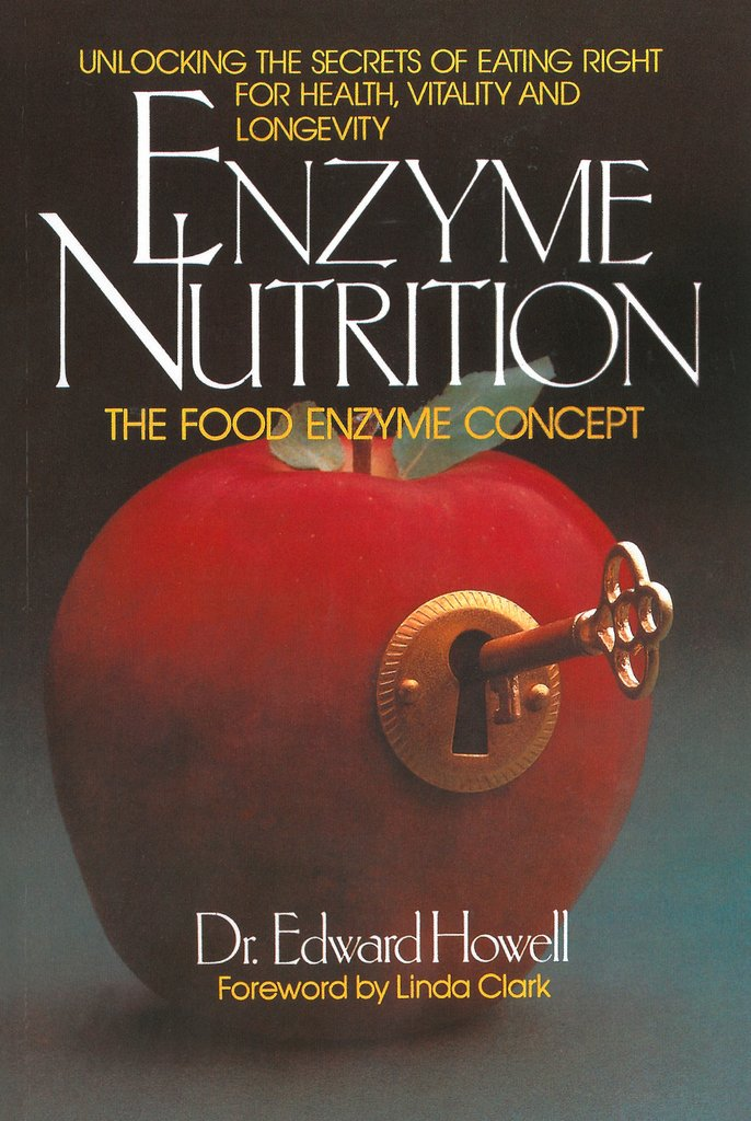 "Enzyme Nutrition: The Food Enzyme Concept - by Dr. Edward HowellDr. Howell is often called the ""father of food enzymes"". During the '30's and '40's of this century, he did incredible research to prove that food enzymes were an essential nutrient, and that cooking and processing of foods destroy them, thereby creating dramatic changes in our ability to digest food and remain healthy. This is a classic in the field."
