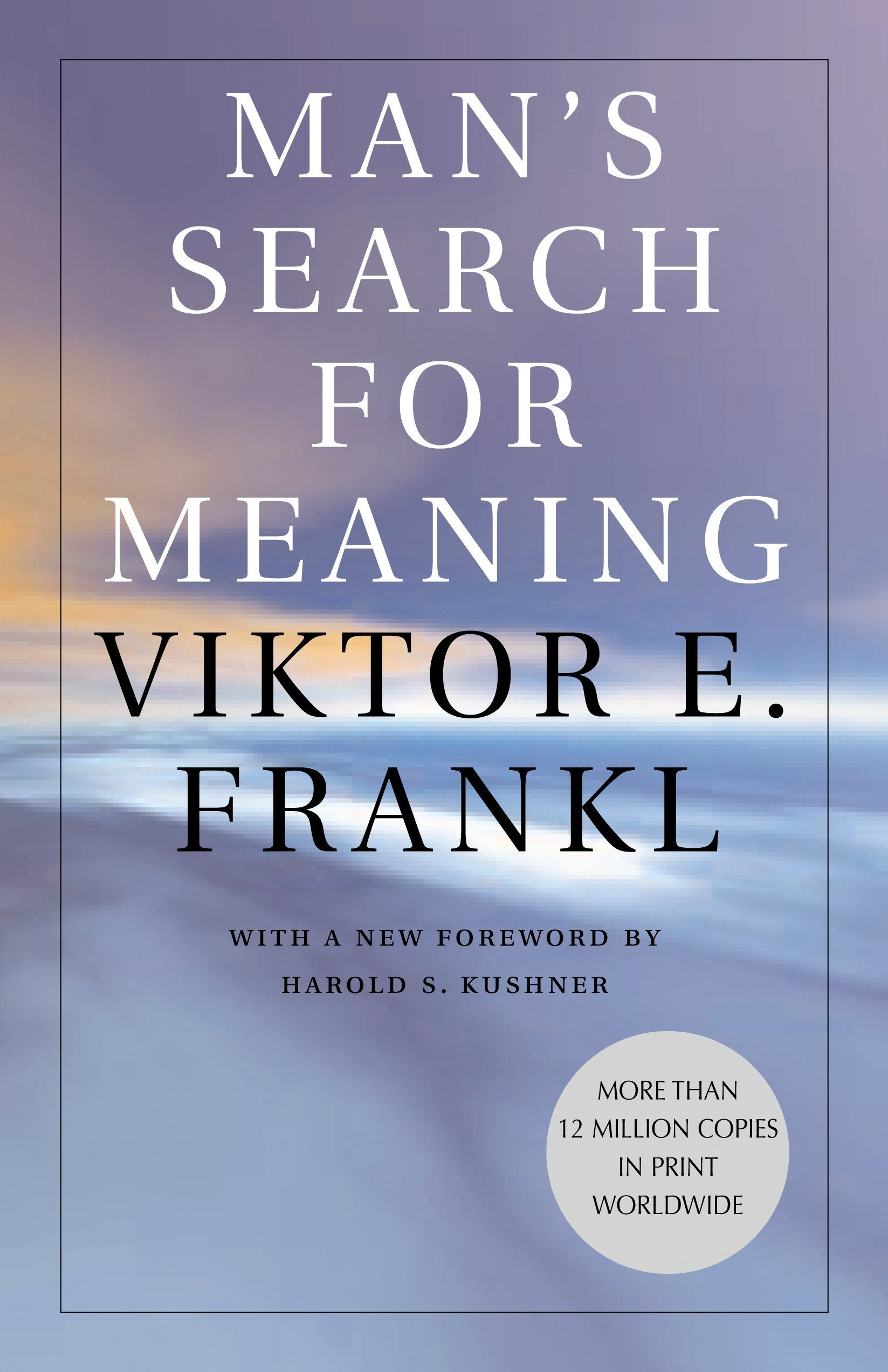 "Man's Search for Meaning - by Viktor E. FranklMan's Search for Meaning by Viktor E. Frankl is among the most influential works of psychiatric literature since Freud. The book begins with a lengthy, austere, and deeply moving personal essay about Frankl's imprisonment in Auschwitz and other concentration camps for five years, and his struggle during this time to find reasons to live. The second part of the book, called ""Logotherapy in a Nutshell,"" describes the psychotherapeutic method that Frankl pioneered as a result of his experiences in the concentration camps. Freud believed that sexual instincts and urges were the driving force of humanity's life; Frankl, by contrast, believes that man's deepest desire is to search for meaning and purpose.Frankl's logotherapy, therefore, is much more compatible with Western religions than Freudian psychotherapy. This is a fascinating, sophisticated, and very human book. At times, Frankl's personal and professional discourses merge into a style of tremendous power.""Our generation is realistic, for we have come to know man as he really is,"" Frankl writes. ""After all, man is that being who invented the gas chambers of Auschwitz; however, he is also that being who entered those gas chambers upright, with the Lord's Prayer or the Shema Yisrael on his lips."""