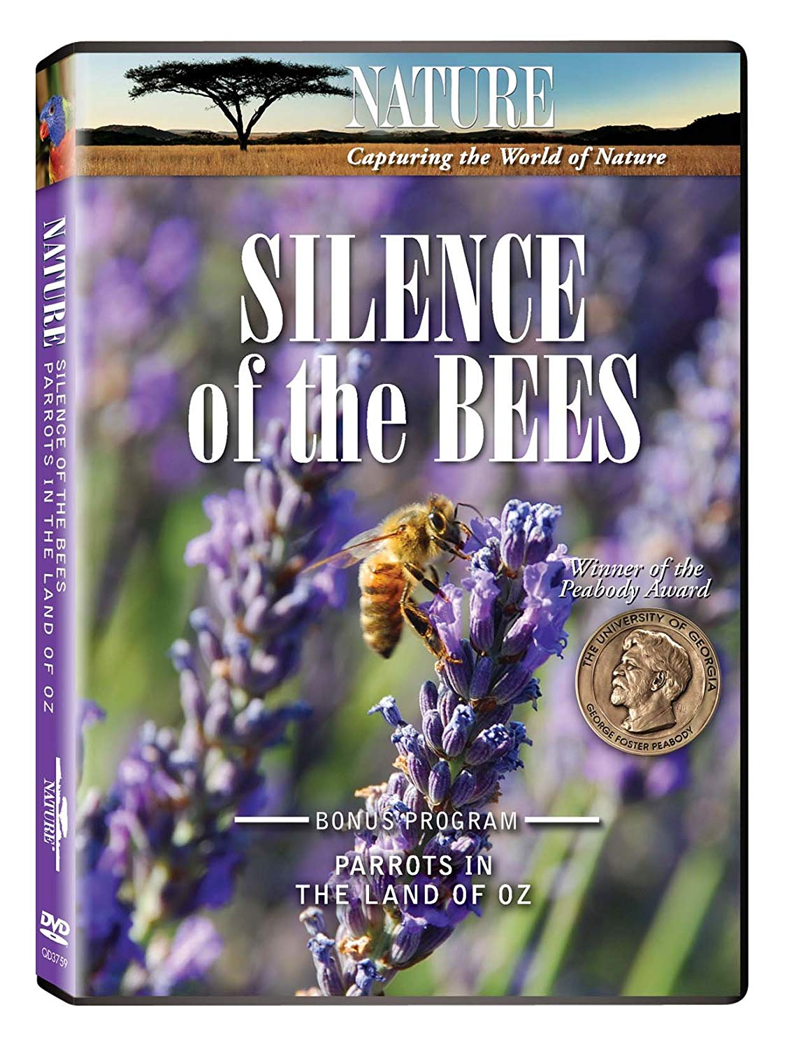 "[Documentary] Nature: Silence of the Bees - Here's the buzz on two great episodes from television's most honored natural history series. Winner of the prestigious Peabody Award, ""The Silence of the Bees"" explores one of Nature's most baffling mysteries: the disappearance of the honeybee! Beginning in the winter of 2006, millions of bees vanished from their hives without a trace. A precious pollinator of fruits and vegetables, the disappearing bees left billions of dollars of crops at risk and threatened our food supply.Join researchers as follow the trail of clues from the Untied States to southern France, from the hills of Spain to England, all the way to Australia and China as they scramble to discover why honeybees were dying in record numbers — and to stop the epidemic in its tracks."
