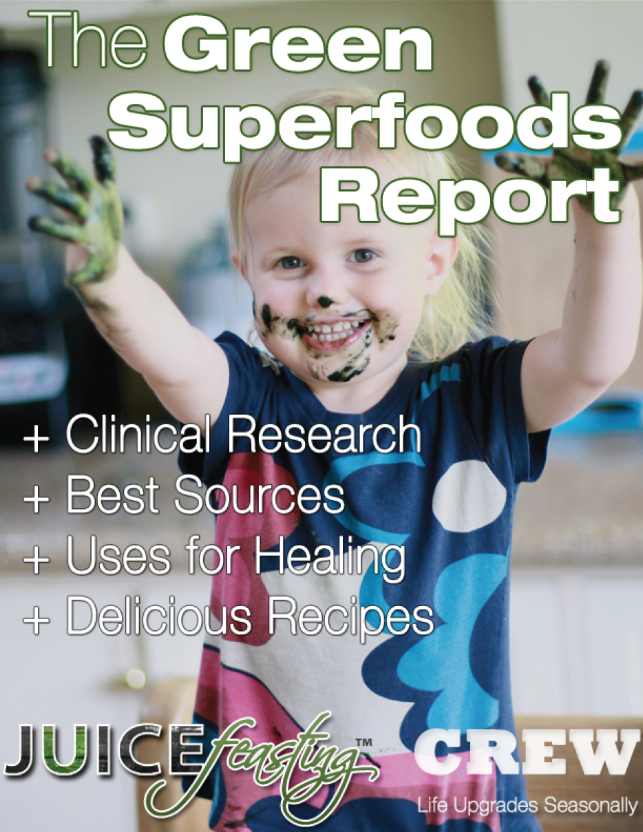 The Green Superfoods Report - by David Rainoshek, M.A.This file will give you greater insight into Green Superfoods, with the following sections:+ Spirulina+ Dr. Gabriel Cousens on Spirulina+ Spirulina for Resolving Arsenic Poisoning with Dr. Mercola+ Chlorella+ Klamath Lake Blue/Green Algae+ E3Live+ Dr. Gabriel Cousens Interview on E3Live+ Green Superfood Powder Concentrates+ Vitamineral Green+ Pure Synergy+ Nature's First Food