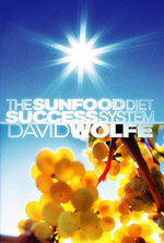 """The Sunfood Diet Success System by David Wolfe - —Reviewed by Dan JerkeThis was my first book that got me into the """"raw movement."""" It changed my life, touching every aspect of my being. I cannot express my gratitude toward David Wolfe for creating this masterpiece. Anyone seeking a life of optimism, joy, and success on a personal level should own The Sunfood Diet Success System!Wolfe's book contains 36 chapters of health transformation. Only ten or so of these specifically deal with the diet, while the book's key focus is on the mental transformation required. Each chapter has exercises at the end for the physical (diet) and mental changes. As recommended by David, keeping a journal and log of your diet will help with the transformation. The book begins with six chapters that ask you to take a look into your life. """"Beliefs,"""" """"Goals,"""" """"Thoughts are Things,"""" and """"Faith"""" are a few of the chapters that promote your well-being on a spiritual level.Starting with chapter 7, """"The Sunfood Diet,"""" the book introduces us to the diet of uncooked fruits, vegetables, and nuts. For those of you who have been wondering about this lifestyle, it's eating foods in their natural, unadulterated state. It is a step further than veganism, being called """"raw-veganism."""" David thoroughly covers all aspects of eating raw. Items discussed are detoxification, food-combining, the SunFood Triangle (new pyramid), hybridized food, common questions, myths, and the wonders of a diet free of toxicity.""""Your idea of the world (what you believe the world is) manifests everything in your life. When you change your idea of the world, the world itself changes. Essentially, your mission isn't to set the world right, but simply to set yourself right. The world does not change, we change.""""The Sunfood Diet Success System is filled with all of David's love. Every page is an inspiration. I can't begin to express my gratitude for the information that was revealed to me in this book. Its knowledge has continued to en"""