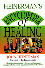 Heinerman's Encyclopedia of Healing Juices by John Heinerman - This book shows how to multiply the body's ability to fight disease and infection using the healing power of 83 different juices. Nutritional contents of every juice are presented, including particular vitamins and minerals each concoction provides. This is one of the most valuable resources for a beginning Juice Feaster, even for the person advanced in Live Food Nutrition. An excellent reference that will put to rest any question as to the healing power of juices, and the extraordinary variety we have available to us.This is our favorite book on juices. Get this book, and access it at different points of your Feast as you are accessing the best produce ever. A great book to build your confidence in the reality of food as medicine. Your produce loves you.