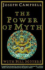 The Power of Myth by Joseph Campbell - Among his many gifts, Joseph Campbell's most impressive was the unique ability to take a contemporary situation, such as the murder and funeral of President John F. Kennedy, and help us understand its impact in the context of ancient mythology. Herein lies the power of The Power of Myth, showing how humans are apt to create and live out the themes of mythology. Based on a six-part PBS television series hosted by Bill Moyers, this classic is especially compelling because of its engaging question-and-answer format, creating an easy, conversational approach to complicated and esoteric topics. For example, when discussing the mythology of heroes, Campbell and Moyers smoothly segue from the Sumerian sky goddess Inanna to Star Wars' mercenary-turned-hero, Han Solo.Most impressive is Campbell's encyclopedic knowledge of myths, demonstrated in his ability to recall the details and archetypes of almost any story, from any point and history, and translate it into a lesson for spiritual living in the here and now. – Amazon.com, Gail Hudson