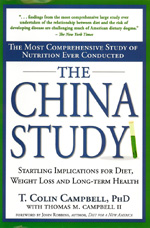 The China Study by T. Colin Campbell, PhD - (2005, 416 pages, hardcover) – A staple of research in the Vegan community, learn where Dr. T. Colin Campbell's 30+ years of research with Cornell and Oxford rings true, and where the scholarship and conclusions are less than accurate and objective.A very, very valuable book to read if you are developing a Vegan diet for compassion or healing, and an absolute must-read.The chapter on Scientific Reductionism is one of the best accounts of the drawbacks of nutritional and medical science, even if Dr. Campbell actually practiced reductionism himself in gathering his data and making his conclusions.The 92-Day Juice Feasting Nutrition Course has dedicated an entire Day as an investigation and expose on this important book.