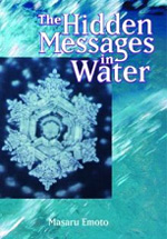 The Hidden Messages in Water by Masaru Emoto - The Hidden Messages in Water is an eye-opening theory showing how water is deeply connected to people's individual and collective consciousness. Drawing from his own research, scientific researcher, healer, and popular lecturer Dr. Masaru Emoto describes the ability of water to absorb, hold, and even retransmit human feelings and emotions. Using high-speed photography, he found that crystals formed in frozen water reveal changes when specific, concentrated thoughts are directed toward it. Music, visual images, words written on paper, and photographs also have an impact on the crystal structure.Emoto theorizes that since water has the ability to receive a wide range of frequencies, it can also reflect the universe in this manner. He found that water from clear springs and water exposed to loving words shows brilliant, complex, and colorful snowflake patterns, while polluted water and water exposed to negative thoughts forms incomplete, asymmetrical patterns with dull colors. Emoto believes that since people are 70 percent water, and the Earth is 70 percent water, we can heal our planet and ourselves by consciously expressing love and goodwill.