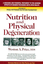 "Nutrition and Physical Degeneration by Weston A. Price - Commentary by Rhio: I cannot recommend this book enough. It is a monumental work done at a time when scientific research really meant something (meaning it wasn't backed by vested interests). It is fully documented with photographs that plainly tell the real story of physical degeneration. While I do not agree with certain conclusions reached by Dr. Price, such as that you need to have some animal products in the diet to be healthy, nevertheless, in my opinion, the work stands alone as a masterpiece.""The Deadly Diet""Circling the world in the 1920s and '30s, Dr. Price and his wife found the same sinister pattern among ""primitive"" populations, whether isolated Irish fishermen, tribal Africans, Pacific Islanders, Eskimos, North and South American Indians or Australian Aborigines. Those groups that followed their traditional nature-based diets enjoyed good health and vigor, and those that turned to the ""civilized"" diet of processed, sugar-laden foods soon developed a variety of ills, including misshapen bones and teeth—and the situation worsened with each generation.Dr. Price's fascinating accounts of his discoveries, and the extensive photo documentation he provides, drive home the nutritional truths that are only now gaining general understanding, and Nutrition and Physical Degeneration remains an unequaled source of basic information—a ""must for anyone seriously interested in the effects of food on health.""—Robert M. Cathcart, M.D.NOTE: Since this invaluable book was published more than 60 years ago, mores and social attitudes have changed to such an extent that some readers may be offended by references to ""savages"" and other out-of-date nomenclatures, as well as by some of the research studies that are no longer timely. However, in the interest of authenticity and completeness, the publisher feels an obligation to reprint the book exactly as Dr. Price wrote it in 1939."