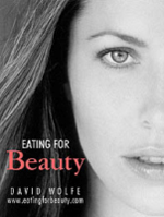 Eating for Beauty by David Wolfe - Proper nutrition is an art. It is an art form. Every bite is a brush stroke. Every swallow is a new color. Each meal is a cloud or a tree or a flower a piece of the beautiful painting that you are becoming. You are becoming an ever more attractive work of art each day. You truly are a work of art in progress. In Eating for Beauty, David Wolfe, one of America's foremost nutrition experts, describes how to cleanse, nourish, and beautify by utilizing the benefits of a fresh-food diet. You can apply the lessons contained within this book to improve your appearance, vitality, and health.Beauty is the universal language. Whether it is skin-care, a fresh-food diet, vital energy, or any other facet of healthy living, David Wolfe is the authority. Contains over 100 full-color photos and illustrations and references the most unique and highest-quality natural beauty products in the world!Table of Contents: Introduction; Lesson 1: Cosmic Beauty; Lesson 2: Beauty Nutrition; Lesson 3: The Acid/Alkaline Balance Simplified; Lesson 4: The Three Food Classes; Lesson 5: Elements of The Beauty Diet; Lesson 6: Detoxification & Transformation; Lesson 7: Alchemical Beauty Secrets (The Beauty Minerals; Lesson 8: Beautifying Foods; Lesson 9: The Beauty Diet; Lesson 10: Beauty Recipes; Lesson 11: Body Beauty (Skin, Hair, Nails, Teeth, Eyes, Voice); Lesson 12: Yoga & Beauty Sleep; Lesson 13: The Psychology of Beauty Consciousness; Testimonials; What Is Beauty?; Appendix A: Hot Springs; Appendix B: Non-Beautifying Plant Foods