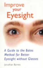 "Improve Your Eyesight by Jonathan Barnes - More Americans than ever before are attempting to correct their vision without having to wear glasses or contact lenses. By working on Bates method exercises illustrated in this book at home for half an hour a day and applying some simple techniques in everyday life, most people have at least a 75 percent chance of achieving partial or complete success in restoring their vision.Almost half a million Americans underwent corrective vision surgery in 1999 (more than double the number who attempted it the year before), and complications that may arise from these procedures are still uncertain, as the science is so new and untested. The Bates method of eyesight improvement is non-surgical, completely safe, and quite effective. This simple and practical guide to using the Bates method is completely up-to-date and addresses all the common faults of vision-nearsightedness, farsightedness, astigmatism, and ""old age"" sight."