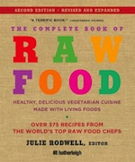 Complete Book of Raw Food Edited by Lori Baird - An exciting collection of inspired recipes from raw food's top chefs!Raw food is the new classic vegetarian cuisine. The Complete Book of Raw Food, a landmark collection of raw food recipes and preparation techniques, introduces you to this new way of eating. In these pages, the world's 49 top raw food chefs guide you through the process of creating fantastic raw meals with the freshest ingredients. They also reveal their insider tips for dazzling meal presentation.The heart of The Complete Book of Raw Food is a collection of more than 350 mouth-watering recipes. From soups and salads to main dishes and desserts, this is the largest published collection of raw food recipes.With contributions by: Stephen Arlin * David Wolfe * Jackie Ayala & David Steinberg * Michal Adi * Matt Amsden * Emily Lee Angell * Elizabeth Baker * The Boutenko Family * Karyn Calabrese * Rose Lee Calabro * Champion Juicers * Tolentin Chan & Dan Hoyt * Karie Clingo * Cuisinart * Sharon Elam * Excalibur Dehydrators * John Fielder * Jackie Graff * Green Star * Shannon Isley * Juliano * Karen Knowler * Viktoras Kulvinskas * John Larsen * Jalissa Letendre * Living and Raw Foods Market * Elaine Love * Rhonda Malkmus * Elysa Markowitz * New Natives Farm * Paul Nison * Karen Parker * Rhio * Eddie D. Robinson & Lillian Butler * Julie Rodwell * Rita Romano * Jeremy Safron * Matt Samuelson * Chad Sarno * Nomi Shannon * Shazzie * Jameth & Kim Sheridan * Cherie Soria * The Sproutpeople * Jinjee & Storm Talifero * Vita-Mix * Jonathan Weber * Abeba Wright * Robert Yarosh & Lisa Soto * and Amy Yockel.