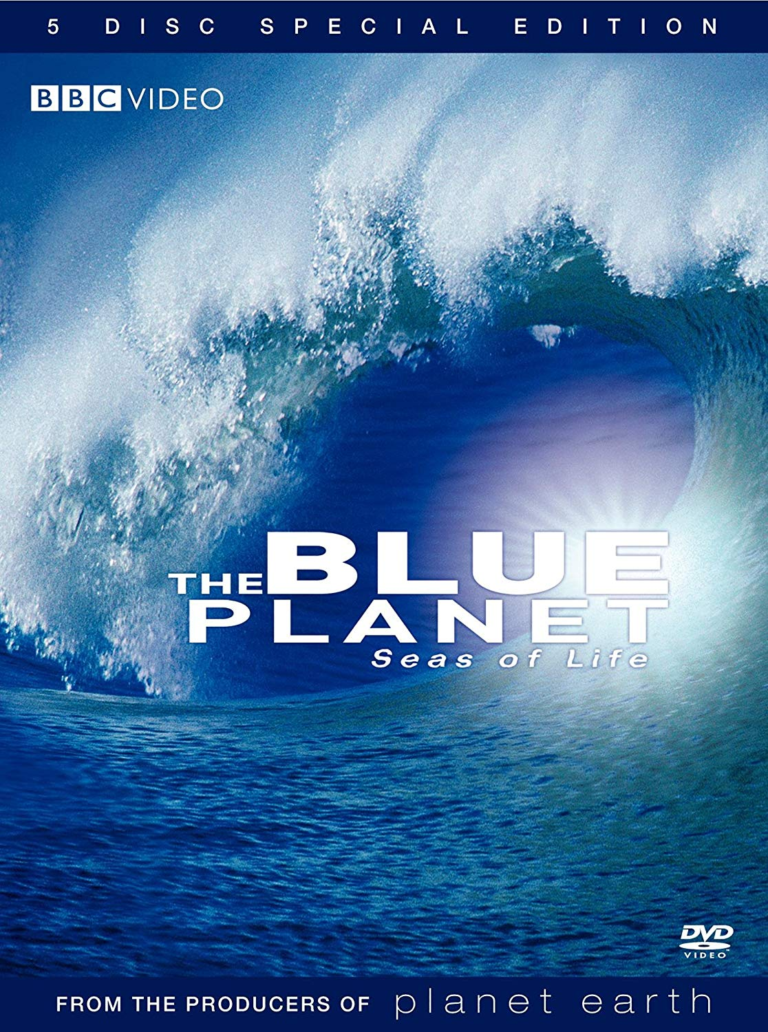 Blue Planet: Seas of Life (2008) - [DVD Documentary Series]Before creating the monumental Planet Earth series, producer Alastair Fothergill and his team from the BBC put together one of the most breathtaking explorations of the world's oceans ever assembled, The Blue Planet: Seas of Life. The winner of two Emmy(R) Awards, The Blue Planet: Seas of Life is the definitive exploration of the marine world, chronicling the mysteries the deep in ways never before imagined. It is now being re-released in an all-new special edition, with an added 5th disc of bonus programming not included in the original DVD release. See it again, like never before!
