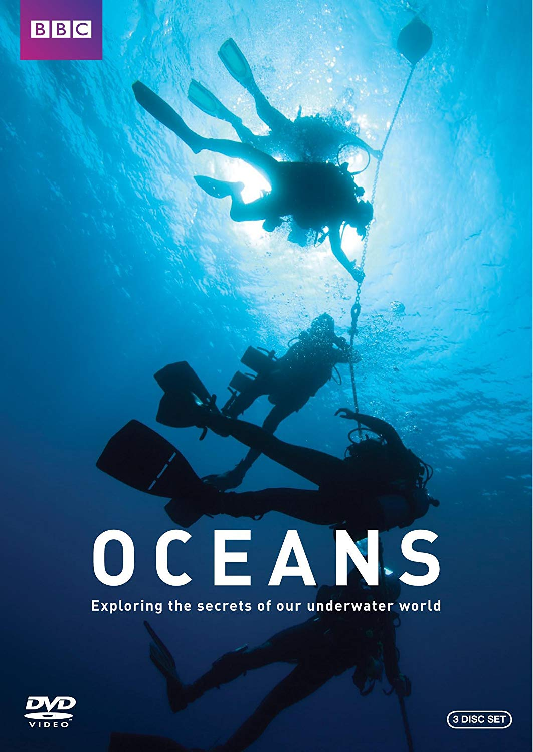 Oceans by the BBC - with Philippe Cousteau [DVD Documentary Series]Hidden within the depths of our oceans are secrets about our past, our planet and life itself. At last, an international team of underwater explorers is ready to dive in and discover them. This spectacular, surprising series combines archeology, geology, marine biology and anthropology with all the energy and excitement of a good thriller. Astonishing footage captures the full beauty of the alien world and video diaries vividly reflect the teams stresses, successes, disappointments and dangers.From discovering the truth behind rumors that the Mediterranean has become a breeding ground for the Great White, to exploring ancient wrecks that tell tales of piracy past and present, the team ventures fearlessly into some of the planet's most challenging environments providing a vital and timely understanding of our oceans.