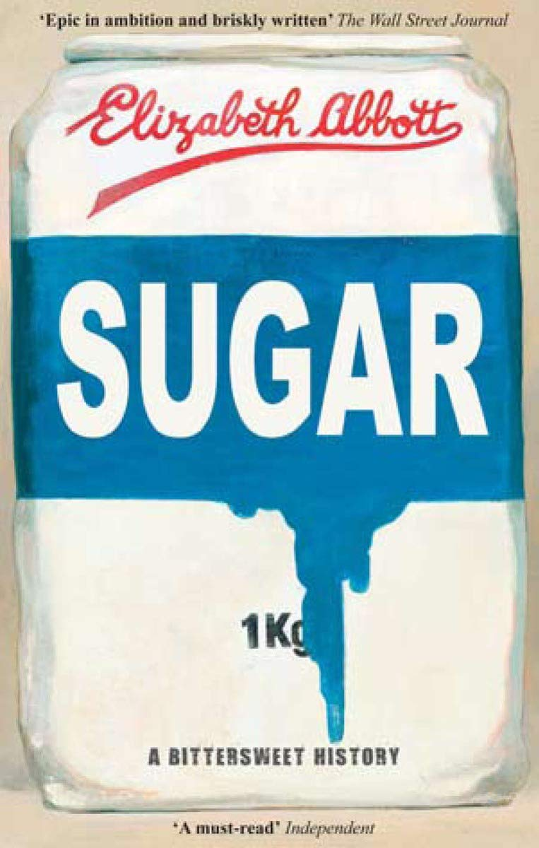 """sugar: a bittersweet history - By Elizabeth AbbottMuch like oil today, sugar was once the most powerful commodity on earth. It shaped world affairs, influencing the economic policies of nations, driving international trade and wreaking environmental havoc. The Western world's addiction to sugar came at a terrible human cost: the near extinction of the New World indigenous peoples gave rise to a new form of slavery, as millions of captured Africans were crammed into ships to make the dangerous voyage to Caribbean cane plantations.What began as the extraordinarily expensive luxury of nobles and the very wealthy has become a staple in the modern world. Indeed, it played its own role in creating that world, fueling the workers of the Industrial Revolution, and giving rise to the craze for fast food.Sugar: A Bittersweet History tells the extraordinary, dramatic and thought-provoking story of this most commonplace of products from its very origins to the present day. Elizabeth Abbott examines how and in what quantities we still consume sugar; its role in the crisis of obesity and diabetes; how its cultivation continues to affect the environment; and how coerced labor continues in so many sugar-producing nations. Richly detailed, impeccably researched and thoroughly compelling, """"Sugar"""" is a comprehensive social history of a substance that has revolutionized the way we eat, and poignant testimony to the suffering endured in the name of satisfying the world's sweet tooth."""