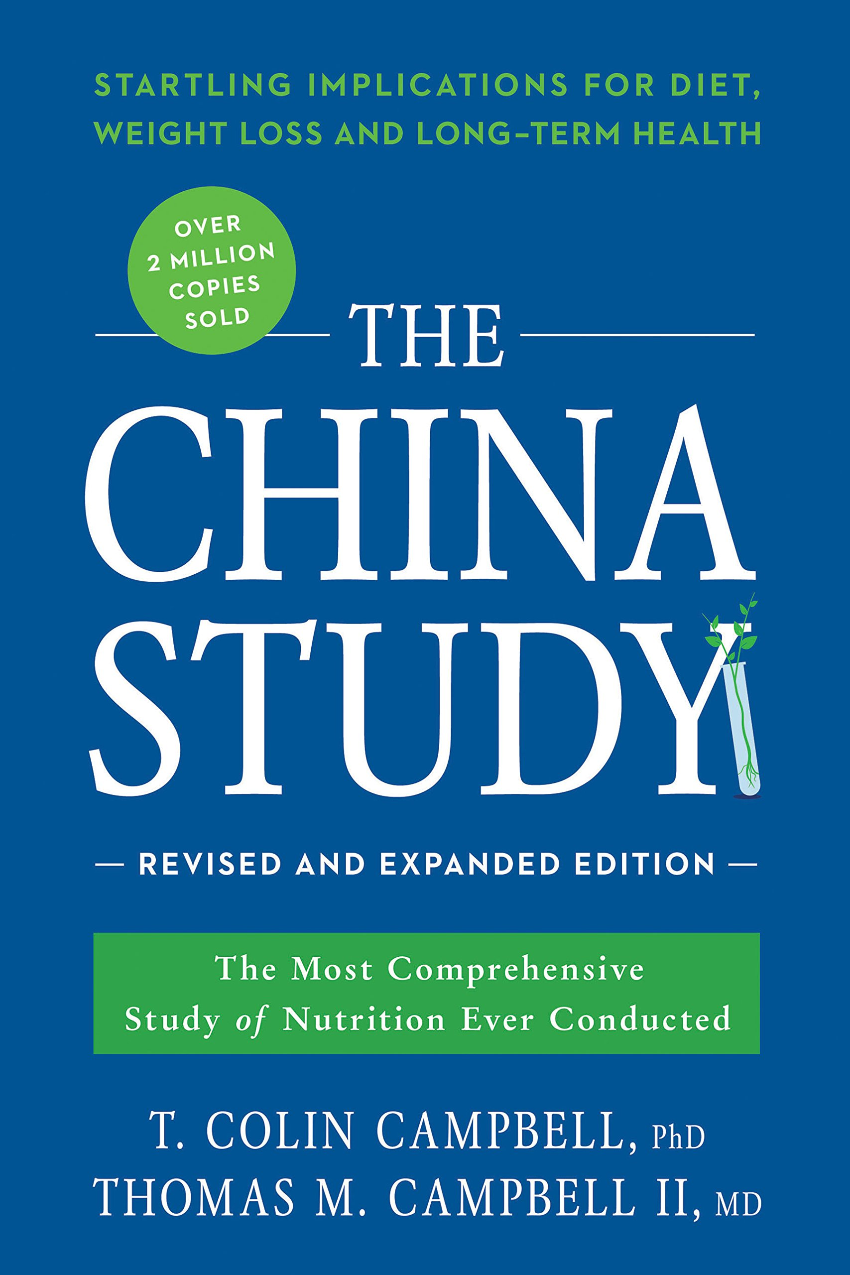 the china Study - By T. Colin Campbell, PhDThe science is clear. The results are unmistakable.You can dramatically reduce your risk of cancer, heart disease, and diabetes just by changing your diet.More than 30 years ago, nutrition researcher T. Colin Campbell and his team at Cornell, in partnership with teams in China and England, embarked upon the China Study, the most comprehensive study ever undertaken of the relationship between diet and the risk of developing disease. What they found when combined with findings in Colin's laboratory, opened their eyes to the dangers of a diet high in animal protein and the unparalleled health benefits of a whole foods, plant-based diet.In 2005, Colin and his son Tom, now a physician, shared those findings with the world in The China Study, hailed as one of the most important books about diet and health ever written.