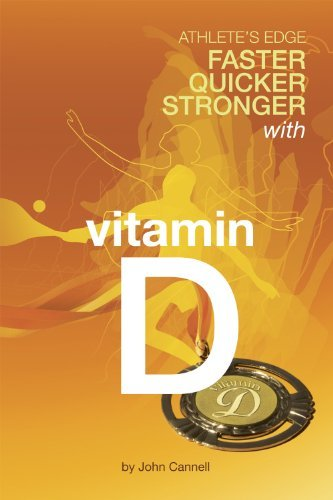 athlete's edge : faster, quicker, stronger with vitamin D - By John CannellThis book covers new ground. After extensive investigation and translation of numerous scientific reports into the English language, author Dr. John Cannell reveals a long-held secret once known only to Eastern European athletic trainers. In the 1960s and 70s, it was called Sunlamp Therapy, and it gives athletes a definitive edge over their competitors, particularly for athletes who train for indoor or winter sports. That vitamin D, the sunshine vitamin, improves muscle tone, muscle strength, balance, reaction time and physical endurance, as well as immunity and general health, is a recent discovery in western medicine. It has application ranging from improved performance of standing armies in the field, to Olympic and every-day athletes, and even seniors who need to avert falls and age-related loss of muscle mass and muscle tone. This ground-breaking book is a welcome addition to our current working knowledge of nutrition and health. Read it from beginning to end.