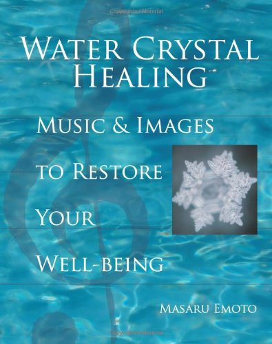 water crystal healing - By Dr. Masaru EmotoFor centuries, people have turned to classical music for its calming and relaxing effects. Internationally acclaimed water researcher Dr. Masaru Emoto has discovered why certain music has healing benefits: Music with the appropriate rhythm, tempo, tone, and melody can correct distorted frequencies within our cells, assisting our health and healing.In this unique collection, Dr. Emoto presents music that he has found through his research to be beneficial for common physical and emotional imbalances. Listen to the musical pieces while enjoying Dr. Emoto's captivating water-crystal photographs. The possible benefits you may experience include decreased joint and back pain; improved function of the nervous, circulatory, lymphatic, and immune systems; and the release of negative emotions such as anxiety, self-pity, and depression. The combination of images, words, and music in Water Crystal Healing concentrates consciousness as never before, providing a unique experience for healing.