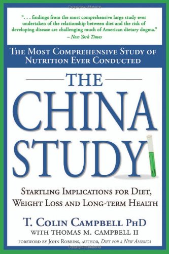 the china study - By T. Colin CampbellThe Source of the inspiration and the controversy. Taking into account the criticisms above, this is an excellent read and a must-have for any nutrition library.I thought it was a fascinating read the first time when I was a Raw/Live Vegan. It is even more interesting reading when you consider what was not taken into account by Dr. Campbell because he views all research through a Vegan lens/worldview.
