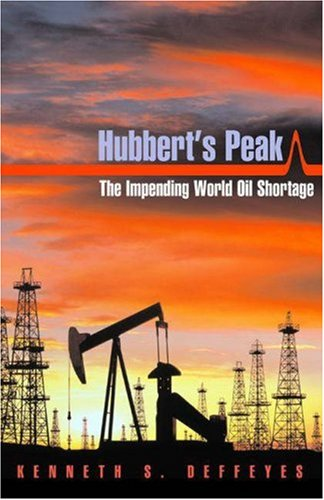 hubbert's peak : the impending world oil shortage - By Kenneth S. DeffeyesGeophysicist M. King Hubbert predicted in 1956 that U.S. oil production would reach its highest level in the early 1970s. Though roundly criticized by oil experts and economists, Hubbert's prediction came true in 1970.In this revised and updated edition reflecting the latest information on the world supply of oil, Kenneth Deffeyes uses Hubbert's methods to find that world oil production will peak in this decade–and there isn't anything we can do to stop it. While long-term solutions exist in the form of conservation and alternative energy sources, they probably cannot–and almost certainly will not–be enacted in time to evade a short-term catastrophe.