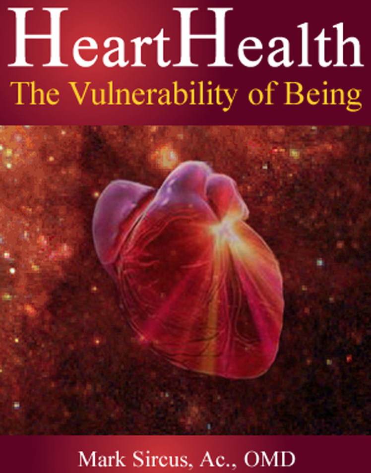 heart health: the vulnerability of feeling - By Dr. Mark SircusHeart Health is a book about spiritual psychology, a psychology of feelings and emotions. Cognitive and most other psychologies deal with the mind, thoughts and images that rage in peoples' heads whereas HeartHealth takes one on a journey directly into their own mysterious world of pure being, feeling and emotion.From the space of the heart we see the world, ourselves and significant others differently than our minds tuned to separation do. The deeper we go into the heart the more centered we become but the ticket to admission is steep. Without a love and commitment to truth it is impossible to maintain a connection with our own hearts or the hearts of anyone else for that matter.This book gives simple clues to knowing when you are in your heart as well as clues to knowing when you are gravitating into the separative space of the head. It also offers exercises one can do on ones own to penetrate directly into the heart and touch on ones most vulnerable of feelings.Deep within is our pure being that has incarnated into this body. This being is ultra sensitive and is picking up subtle impressions from the environment through the heart center of pure feeling even before we come out of mothers womb. This being has its center in the cardiac area of the body and the more closed it is the weaker and more vulnerable a person or child becomes to illness and disease.There are many things to eventually understand about this mysterious organ we call the heart. Many things beyond the physical manifestations of that pump organ that beats 110,000 times a day that puts out a strong electromagnetic field. HeartHealth is a book primarily about human emotions, feelings and the vulnerability of our beings.The heart represents our basic capacity to feel.Books like Emotional Intelligence highlight the intelligence of our feelings. Since the avoidance of emotional suffering (feelings) is the basis of most mental illness, we ca