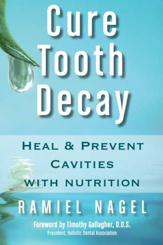 cure tooth decay : heal and prevent cavities with nutrition - By Ramiel NagelForget about drilling, filling, and the inevitable billing. Your teeth can heal naturally because they were never designed to decay in the first place! They were designed to remain strong and healthy for your entire life. But the false promises of conventional dentistry have led us down the wrong path, leading to invasive surgical treatments that include fillings, crowns, root canals and dental implants.Now there is a natural way to take control of your dental health by changing the food that you eat. Cure Tooth Decay is based upon the pioneering nutritional program of dentist Weston Price, former head of research at the National Dental Association. Dr. Price's program proved to be 90-95% or more effective in remineralizing tooth cavities utilizing only nutritional improvements in the diet. Cure Tooth Decay is the result of five years of research and trial and error that started as one father's journey to cure his daughter's rapidly progressing tooth decay.With Cure Tooth Decay you will join the thousands of people who have learned how to remineralize teeth, eliminate tooth pain or sensitivity, avoid root canals, stop cavities — sometimes instantaneously, regrow secondary dentin, form new tooth enamel, avoid or minimize gum loss, heal and repair tooth infections, only use dental treatments when medically necessary, save your mouth (and your pocketbook) from thousands of dollars of unneeded dental procedures, and increase your overall health and vitality.Cure Tooth Decay provides you with clear and easy to understand dental facts to help you make healthy, life-affirming choices about your dental health. It is about healing cavities without dental surgery or fluoride. Cure Tooth Decay highlights include:+ conventional dentistry's losing war against bacteria + why people fear the dentist and what you can do about it + a cavity-healing program that is easy to follow + the cause of dental plaque and an amazing technique to reverse gum disease + understanding ideal jaw position and TMJ dysfunction + x-ray proof that cavities can heal + how to heal children's cavities and find peace + why women get cavities during pregnancy and how to stop it, and so much more.