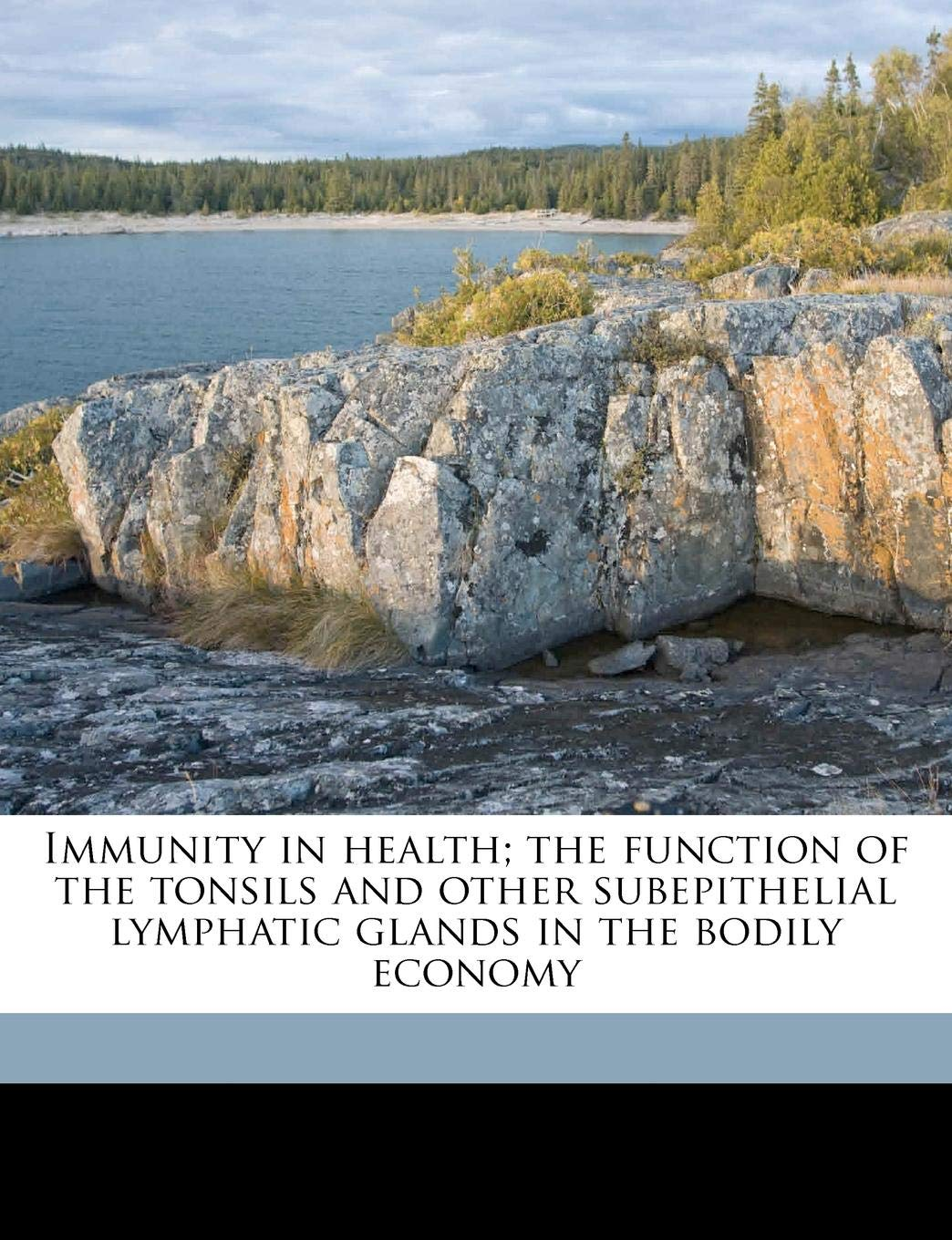 immunity in health; the function of the tonsils and other subepithelial lymphatic glands in the bodily economy - By Kenelm Hutchinson DigbyFrom the re-publisher: This is a reproduction of a book published before 1923. This book may have occasional imperfections such as missing or blurred pages, poor pictures, errant marks, etc. that were either part of the original artifact, or were introduced by the scanning process.We believe this work is culturally important, and despite the imperfections, have elected to bring it back into print as part of our continuing commitment to the preservation of printed works worldwide. We appreciate your understanding of the imperfections in the preservation process, and hope you enjoy this valuable book.